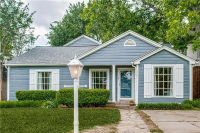 Fort Worth Single Family Home For Sale: 5605 El Campo Avenue