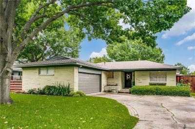 Dallas Single Family Home For Sale: 9626 Lynbrook Drive