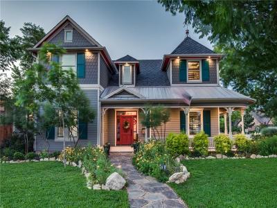 Grapevine Single Family Home For Sale: 625 E Texas Street