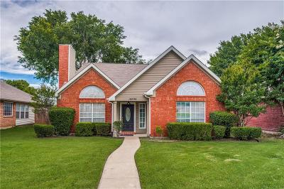 Frisco Single Family Home Active Option Contract: 10008 Burgundy Drive