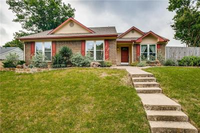 Lewisville Single Family Home Active Option Contract: 714 Walnut Drive