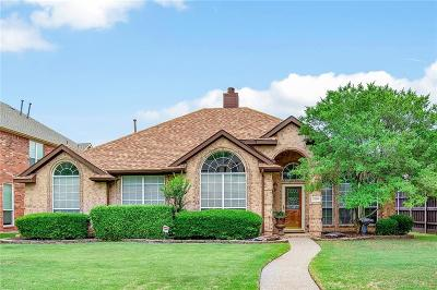 Plano Single Family Home Active Contingent: 2304 Dampton Drive