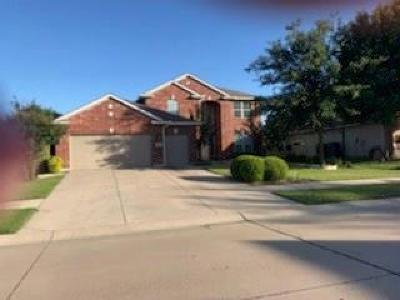 Denton Single Family Home For Sale: 9601 Grandview Drive