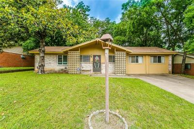 Weatherford Single Family Home For Sale: 1212 Lynn Street