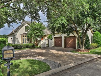 Fort Worth TX Single Family Home For Sale: $645,000