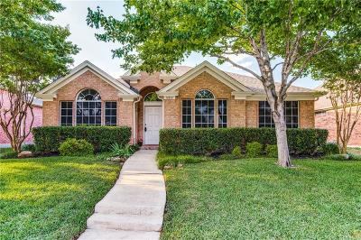 Frisco Single Family Home Active Option Contract: 10812 Reisling Drive