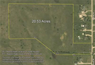 Denton County Residential Lots & Land For Sale: 20.53ac Union Hill Ridge