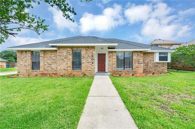 Carrollton Single Family Home For Sale: 1501 Elizabeth Drive