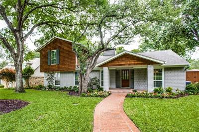 Dallas Single Family Home For Sale: 835 Knott Place