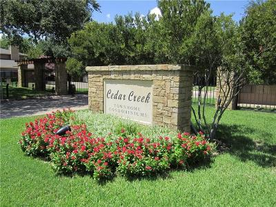 Benbrook Townhouse For Sale: 5727 Cedar Creek Drive