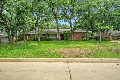 Fort Worth Single Family Home For Sale: 5809 Jacqueline Road