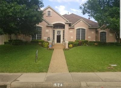Desoto Single Family Home For Sale: 524 Quick Silver Drive