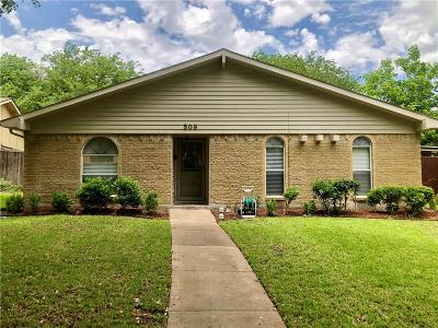Garland Single Family Home For Sale: 509 Aster Drive