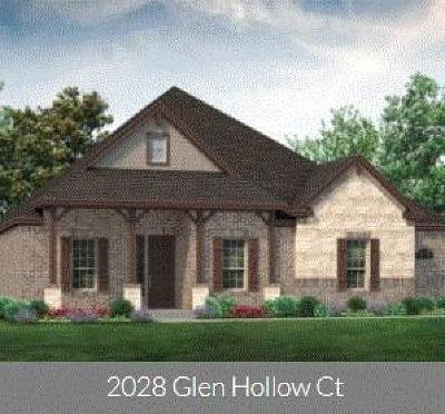 Joshua Single Family Home For Sale: 2028 Glen Hollow Court