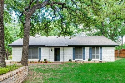 Single Family Home For Sale: 1304 Woodway Drive