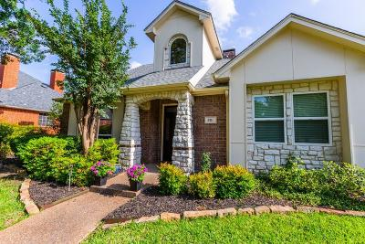 Coppell Single Family Home For Sale: 801 Crane Drive