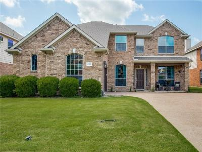 Dallas County, Denton County, Collin County, Cooke County, Grayson County, Jack County, Johnson County, Palo Pinto County, Parker County, Tarrant County, Wise County Single Family Home For Sale: 310 Dover Heights Trail