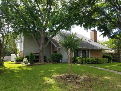 Garland Single Family Home For Sale: 3118 Castle Rock Lane