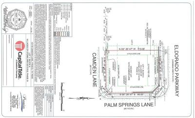 Frisco Residential Lots & Land Active Contingent: 15176 Camden Lane