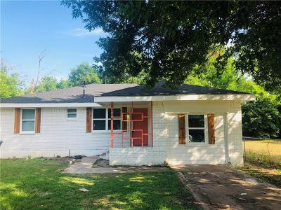 Dallas Single Family Home For Sale: 1306 Mentor Avenue