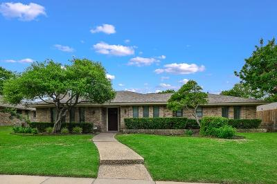 Plano Single Family Home Active Option Contract: 2808 Bengal Lane