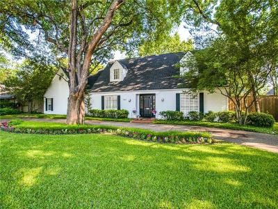 Dallas County, Denton County, Collin County, Cooke County, Grayson County, Jack County, Johnson County, Palo Pinto County, Parker County, Tarrant County, Wise County Single Family Home For Sale: 5624 Brookstown Drive