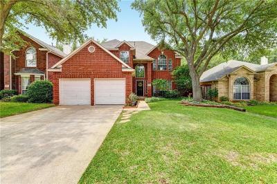 Flower Mound Single Family Home For Sale: 1821 Kingston Lane