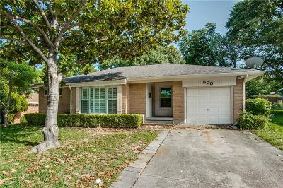 Garland Single Family Home For Sale: 800 Parkmont Drive