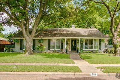 Dallas County, Denton County, Collin County, Cooke County, Grayson County, Jack County, Johnson County, Palo Pinto County, Parker County, Tarrant County, Wise County Single Family Home For Sale: 903 Blue Lake Circle
