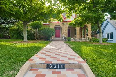 Single Family Home For Sale: 2311 Warner Road