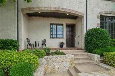 Dallas County, Denton County, Collin County, Cooke County, Grayson County, Jack County, Johnson County, Palo Pinto County, Parker County, Tarrant County, Wise County Townhouse For Sale: 6812 Francesca Lane