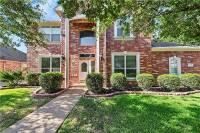 Keller Single Family Home Active Option Contract: 1704 Falcon Drive