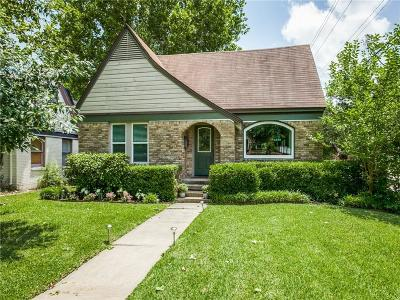 Dallas County, Denton County, Collin County, Cooke County, Grayson County, Jack County, Johnson County, Palo Pinto County, Parker County, Tarrant County, Wise County Single Family Home For Sale: 5502 Vanderbilt Avenue