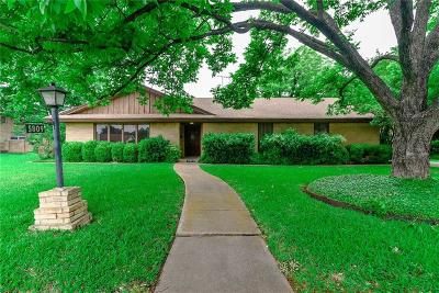 Haltom City Single Family Home Active Option Contract: 5809 Maryview Terrace