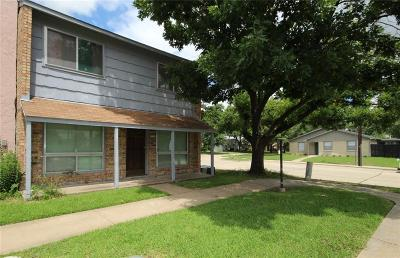 Garland Townhouse For Sale: 3125 Roundtree Lane