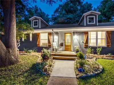 Dallas Single Family Home For Sale: 6508 Kingsbury Drive