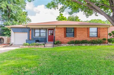 Mesquite Single Family Home Active Option Contract: 629 New Market Road
