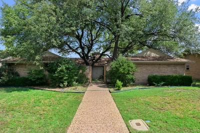 Dallas Single Family Home For Sale: 3121 Chapel Downs Drive