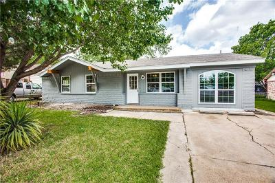Dallas County, Denton County, Collin County, Cooke County, Grayson County, Jack County, Johnson County, Palo Pinto County, Parker County, Tarrant County, Wise County Single Family Home For Sale: 3407 Palm Drive