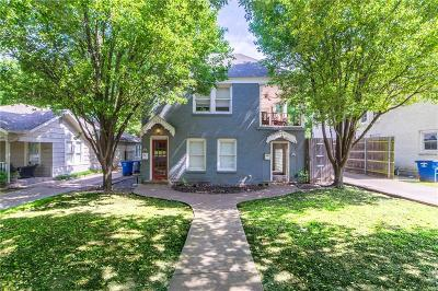Dallas County, Denton County, Collin County, Cooke County, Grayson County, Jack County, Johnson County, Palo Pinto County, Parker County, Tarrant County, Wise County Multi Family Home For Sale: 6253 Palo Pinto Avenue