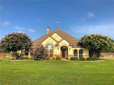 Weatherford Single Family Home For Sale: 134 Oakwood Creek Lane