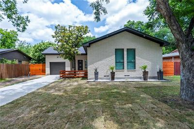 Dallas Single Family Home For Sale: 2421 Highwood Drive