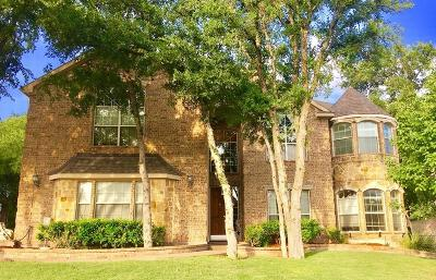 Fort Worth Single Family Home For Sale: 12272 Indian Creek Drive