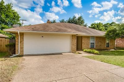 Fort Worth TX Single Family Home For Sale: $214,999