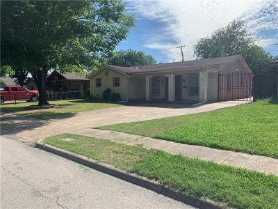 Irving Single Family Home For Sale: 311 Sharon