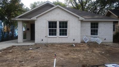 Dallas Single Family Home For Sale: 1624 Poplar Street