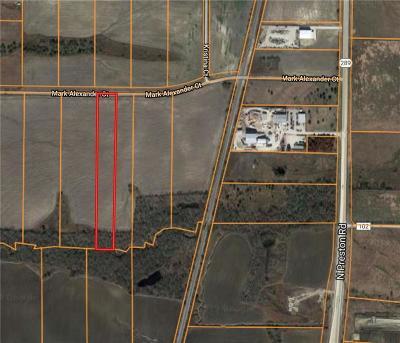 Celina Residential Lots & Land For Sale: 00000 Mark Alexander Road