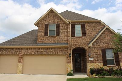 McKinney Single Family Home For Sale: 10712 Marble Falls Place