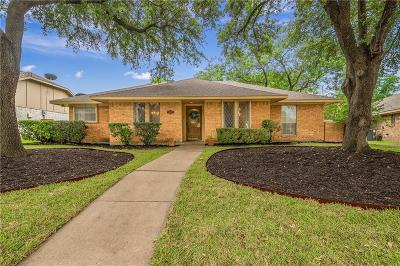 Garland Single Family Home Active Option Contract: 605 Ridgegate Drive