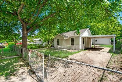 Dallas County, Denton County, Collin County, Cooke County, Grayson County, Jack County, Johnson County, Palo Pinto County, Parker County, Tarrant County, Wise County Single Family Home For Sale: 8329 Delmar Street
